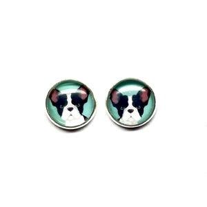 French Bull Dog Earrings